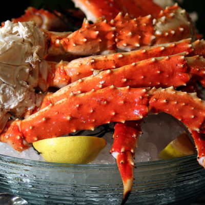 Enjoy Giant Red Whole King Crab Legs From Alaska — Shipped Overnight to Your Door