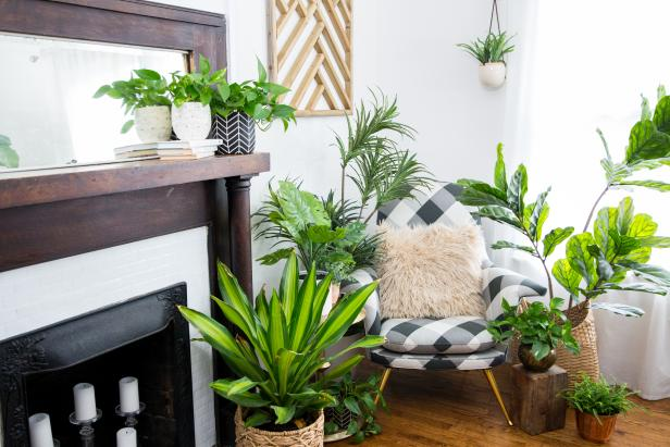 Refreshing ways to use faux plants in your home
